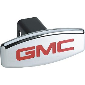 Show details of Bully CR-004A GMC Hitch Cover.