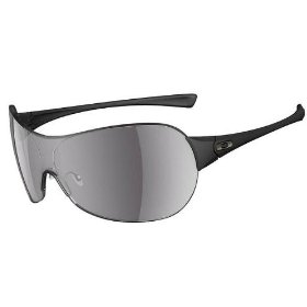 Show details of Oakley CONDUCT 05-269 Matte Black/ Grey Sunglasses.