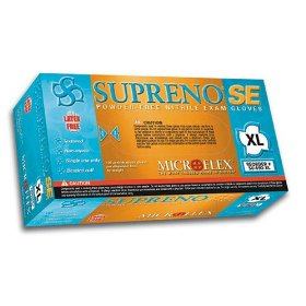 Show details of Microflex SU690XL Supreno SE Powder Free Nitrile Glove Size Extra Large, 100 Box.