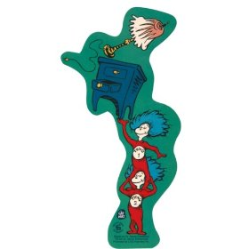Show details of Dr Seuss - Things Balance Decal.