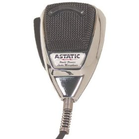 Show details of Astatic 636L-C Chrome 4 Pin Cb Microphone.