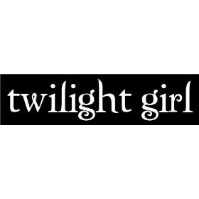 Show details of twilight girl sticker - vampire fan window decal vinyl.