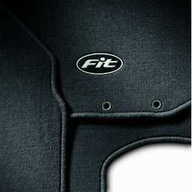 Show details of Honda Fit Carpet Floor Mats Complete Set Front and Rear 2009.