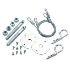 Show details of Mr. Gasket 1616 Competition Hood Pin Kit Safety Pin - Set of 2.