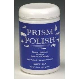 Show details of PRISM POLISH 32 Oz Plastic Jar.