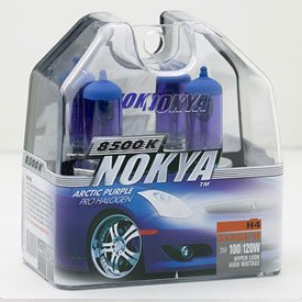 Show details of Nokya Arctic Purple H4 Headlight Bulb 8500K (Stage 2).
