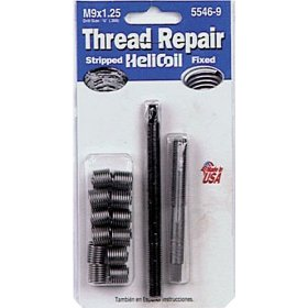 Show details of Helicoil 5546-9 Thread Repair Kit M9 x 1.25.