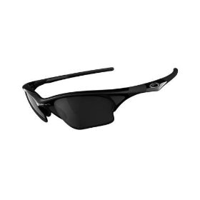 Show details of Oakley HALF JACKET XLJ 03-650 Jet Black/ Black Iridium Sunglasses.