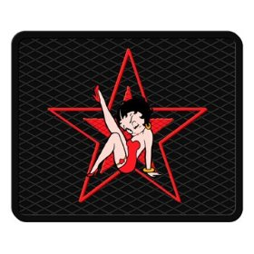"Show details of Betty Boop Star Style Molded 14"" x 17"" Utility Mat."