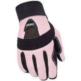 Show details of Tourmaster Airflow Womens Motorcycle Gloves Pink M.