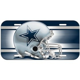 Show details of NFL Dallas Cowboys License Plate.