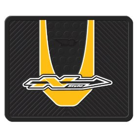 """Show details of Yellow N-Style Graphics Molded 14"""" x 17"""" Utility Mat."""