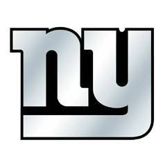 Show details of New York Giants Silver Auto Emblem.
