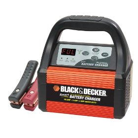 Show details of Black & Decker VEC1087CBD Smart Battery 10/6/2 Amp Battery Charger.