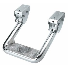 Show details of CARR 103992 Hoop II Multi-Mount Step XM3, Polished Aluminum, 1 Pair.