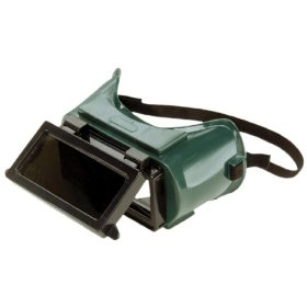 Show details of MSA Safety Works 817699 Lift Front Welders Goggles.