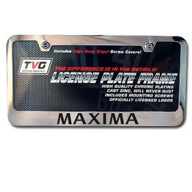 Show details of Nissan Maxima OEM License Frame.