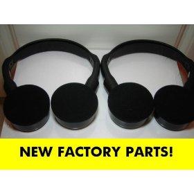 Show details of Honda Pilot Wireless IR Headphones for model years 2003, 2004, 2005, 2006, 2007, 2008 shelf 31.