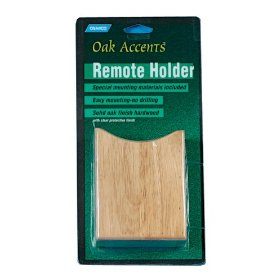 Show details of Camco 43533 Oak Accents Remote Holder.