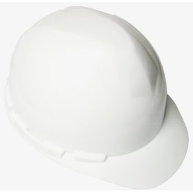 Show details of Dewalt DPG10-WHC Heavy Duty Hard Hat with Ratchet Suspension and Universal Accessory Slots, White.