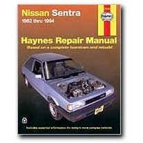 Show details of Haynes Nissan Sentra (82 - 94) Manual.