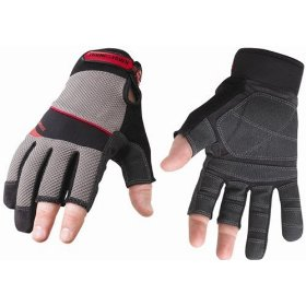 Show details of Youngstown Glove Co. 03-3110-80-M Carpenter Plus Performance Glove Medium, Gray.