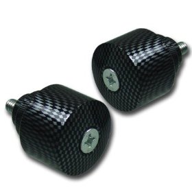 Show details of HONDA CBR 600 900 929 954 1000 RR F4i CARBON BAR ENDS.