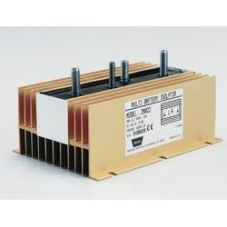 Show details of Warn 28022 Dual Battery Isolator - 120 Amp.