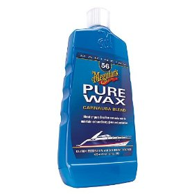 Show details of Meguiar's M5616 Boat/RV Pure Wax - 16 oz..