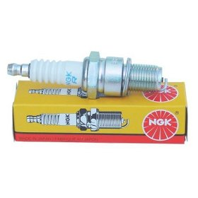 Show details of NGK BR9ES Traditional Spark Plug.