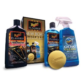 Show details of Meguiar's M6375 New Boat Owners Kit.