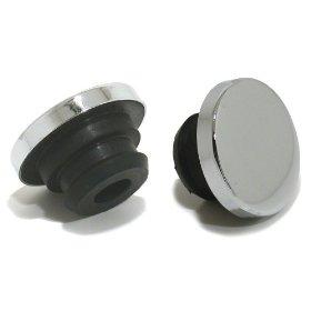 Show details of Spectre 1738 Chrome Oil Filler Plug.