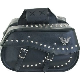 Show details of Detachable Motorcycle Saddlebag for Harley & Yamaha.