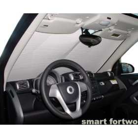 Show details of SMART FORTWO COUPE/CONVERTIBLE 2008 2009 Windshield Heatshield Custom-fit sunshade.