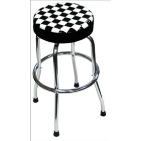 Show details of Advanced Tool Design Model ATD-81055 Shop Stool - Checker Design.