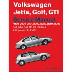 Show details of Volkswagen Jetta, Golf, GTI Service Manual: 1999-2005 1.8l Turbo, 1.9l TDI, Pd Diesel, 2.0l Gasoline, 2.8l VR6 (Paperback).