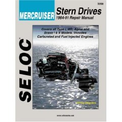 Show details of Mercruiser Stern Drives 1964  1991 (Seloc Marine Tune-Up and Repair Manuals) (Paperback).