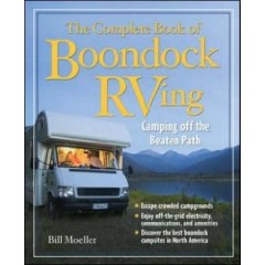 Show details of The Complete Book of Boondock RVing (Paperback).