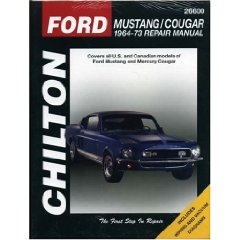 Show details of Ford Mustang and Cougar, 1964-73 (Chilton Automotive Books) (Paperback).