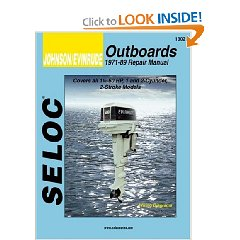 Show details of Johnson/Evinrude Outboards, 1-2 Cylinders, 1971-89 (Seloc's Johnson/Evinrude Outboard Tune-Up and Repair Manual) (Paperback).