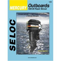 Show details of Mercury Outboards, 3-4 Cylinders, 1965-1989 (Seloc Marine Tune-Up and Repair Manuals) (Paperback).