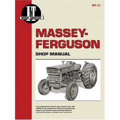 Show details of Massey-Ferguson Shop Manual: Models Mf135, Mf150, Mf165 (Manual Mf-27) (Paperback).