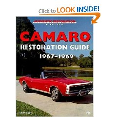 Show details of Camaro Restoration Guide, 1967-1969 (Motorbooks Workshop) (Paperback).