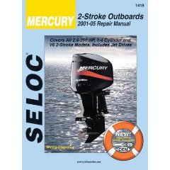 Show details of Mercury & Mariner Outboards 2001-2005 All 2 Stroke Models (Seloc Marine Manuals) (Paperback).