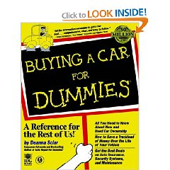 Show details of Buying a Car for Dummies (Paperback).