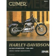 Show details of Clmyer Harley-Davidson XL/XLH Sportster 1986-2003 (Clymer Motorcycle Repair) (Paperback).