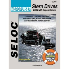 Show details of Mercruiser - All Gasoline Engines/Drives, 2001-2006 (Seloc Marine Manuals) (Paperback).