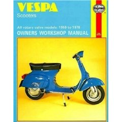 Show details of Vespa Scooters, 1958-78 (Owners Workshop Manual) (Paperback).