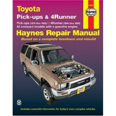 Show details of Toyota Pickup   '79'95 (Haynes Manuals) (Paperback).