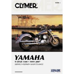 Show details of Yamaha V-Star 110 1999-2007 (Clymer Motorcycle Repair) (Paperback).